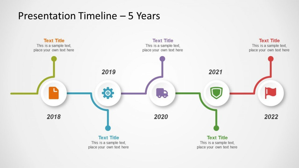 005 Impressive Timeline Powerpoint Template Download Free Image  Project Animated960