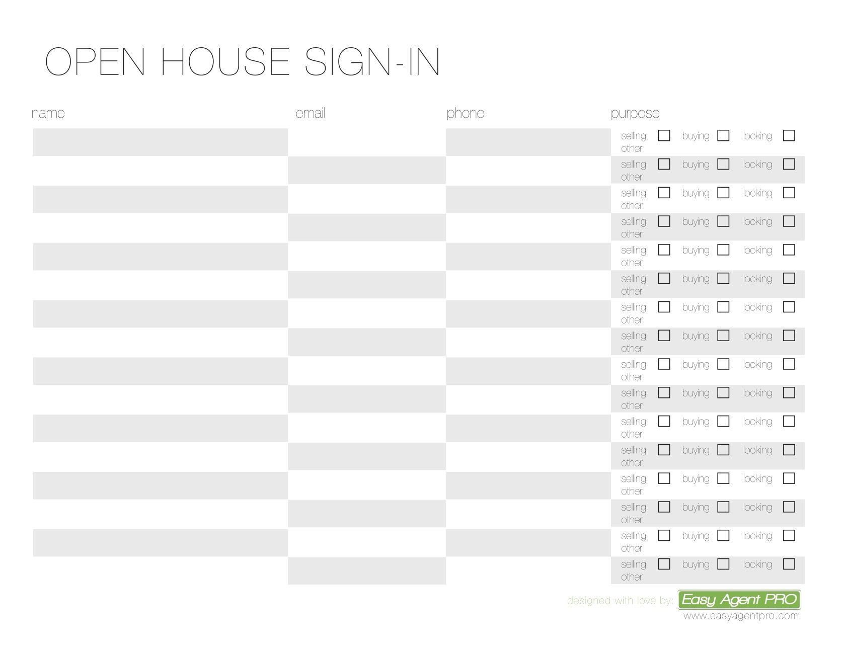 005 Impressive Visitor Sign In Sheet Template Free Photo  PrintableFull