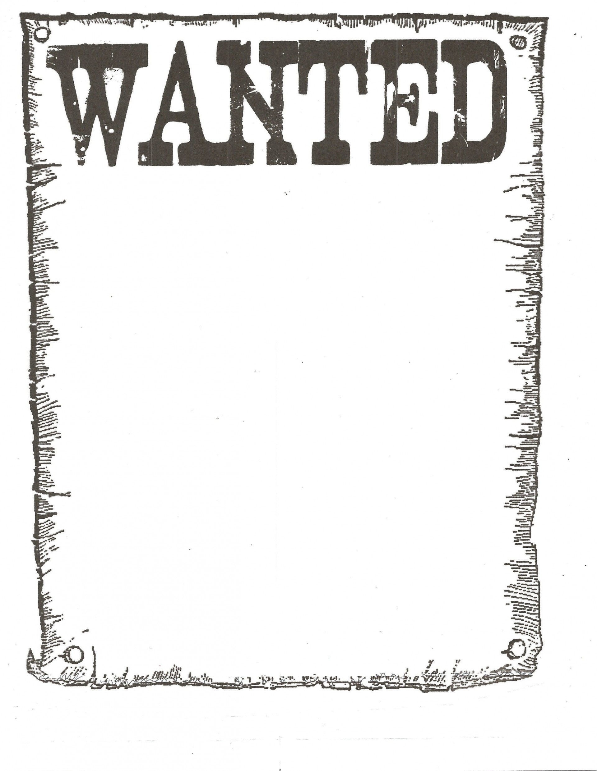 005 Impressive Wanted Poster Template Free Printable Design  Most1920