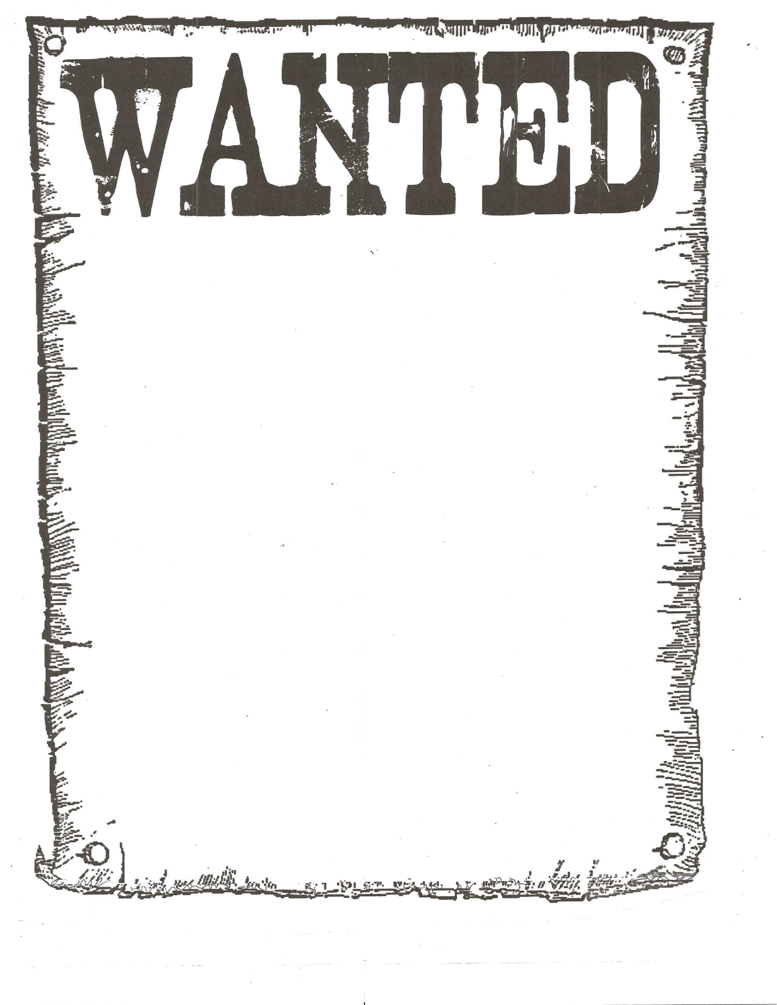 005 Impressive Wanted Poster Template Free Printable Design  MostFull