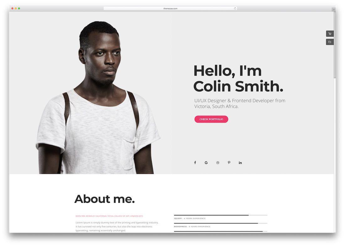 005 Impressive Website Template For Photographer Design  Photographers Free Responsive Photography Php BestFull