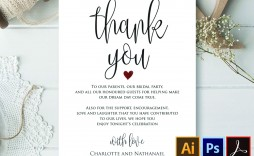 005 Impressive Wedding Thank You Note Template High Resolution  Templates Shower Card Etsy Bridal Format