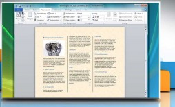 005 Impressive Word Tri Fold Brochure Template Inspiration  2010 Microsoft M Office