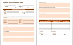 005 Impressive Workplace Incident Report Template Uk Concept