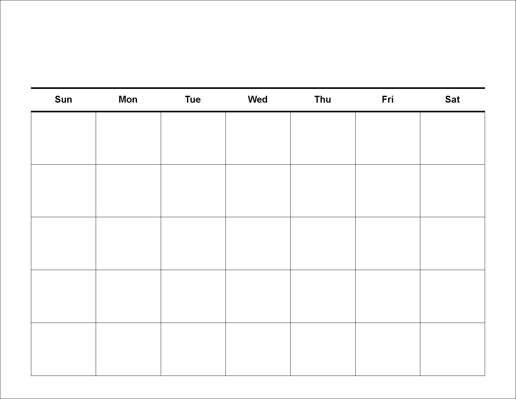 005 Incredible 30 Day Calendar Template Example  Pdf Free BlankFull