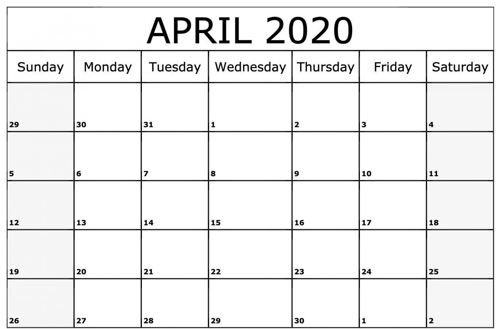 005 Incredible Blank Calendar Template Pdf High Def  Free Yearly1920