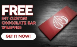 005 Incredible Candy Bar Wrapper Template Photoshop High Resolution  Hershey Free