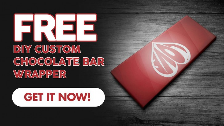 005 Incredible Candy Bar Wrapper Template Photoshop High Resolution  Chocolate728