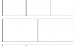 005 Incredible Comic Strip Template Word Doc Picture