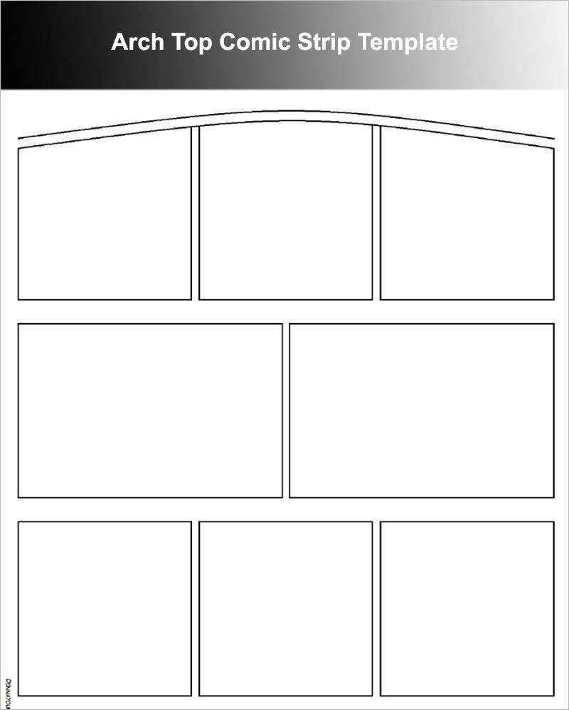 005 Incredible Comic Strip Template Word Doc Picture Full