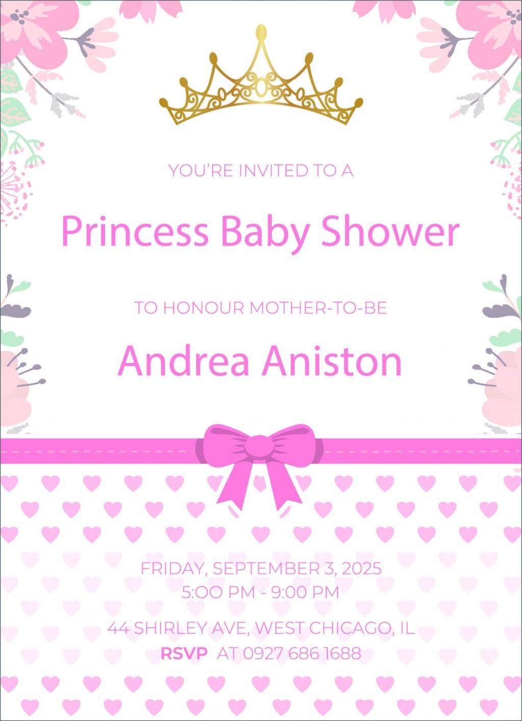 005 Incredible Diy Baby Shower Invitation Template Sample  Templates DiaperLarge