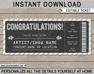 005 Incredible Editable Ticket Template Free High Resolution  Concert Word Irctc Format Download Movie320