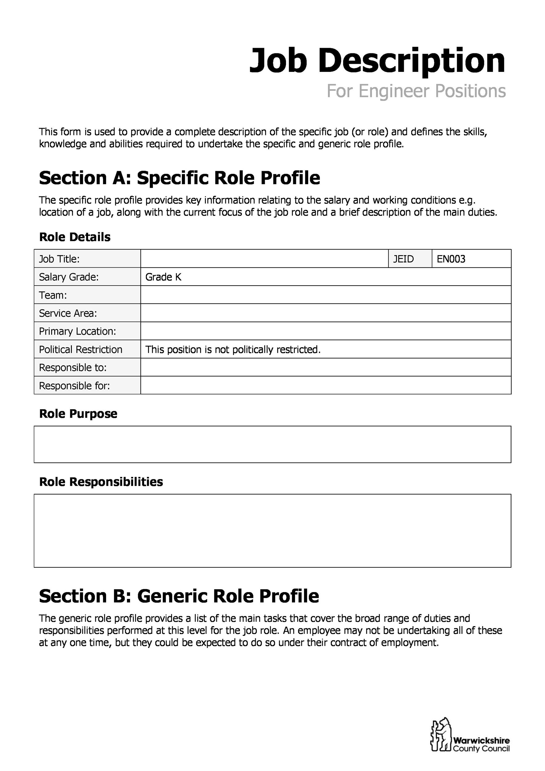 005 Incredible Employee Role And Responsibilitie Template Excel Picture Full