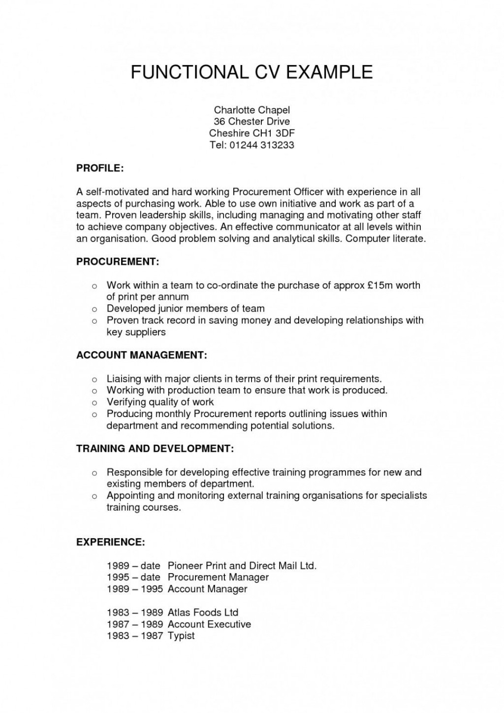 005 Incredible Functional Resume Template Free High Definition Large