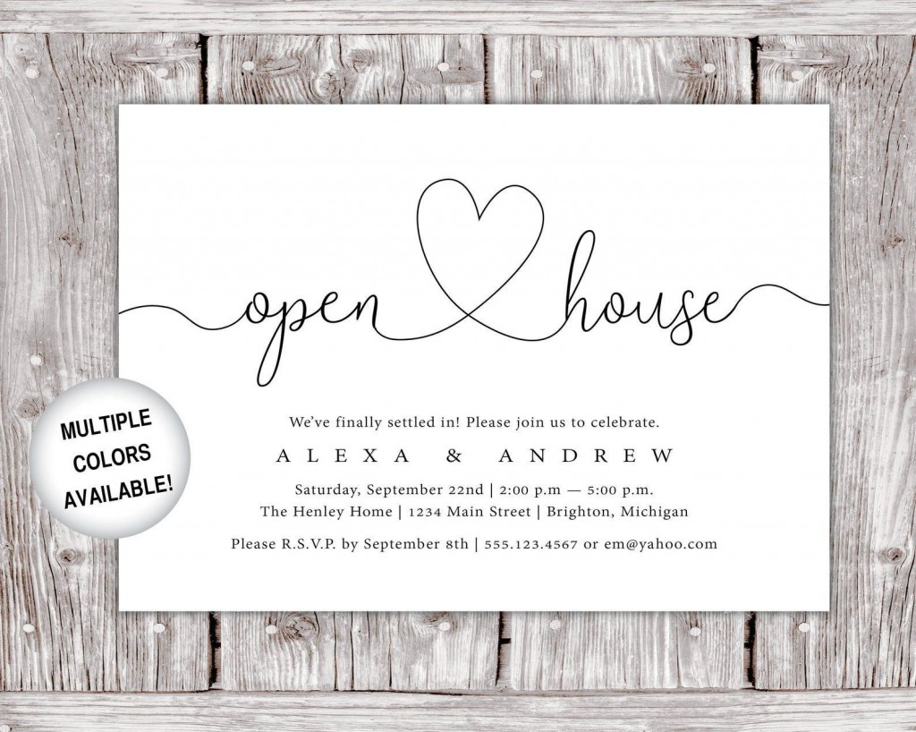 005 Incredible Open House Invitation Template High Def  Templates Free Printable BusinesLarge