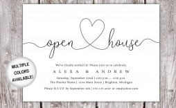 005 Incredible Open House Invitation Template High Def  Templates Free Printable Busines