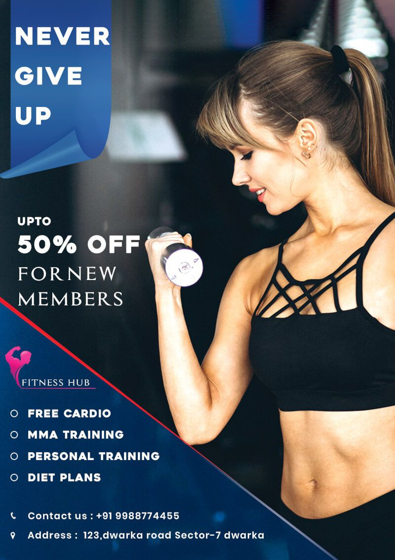 005 Incredible Personal Trainer Flyer Template Image  Word PsdFull
