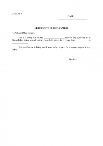 005 Incredible Proof Of Employment Letter Template Canada Design  Confirmation360