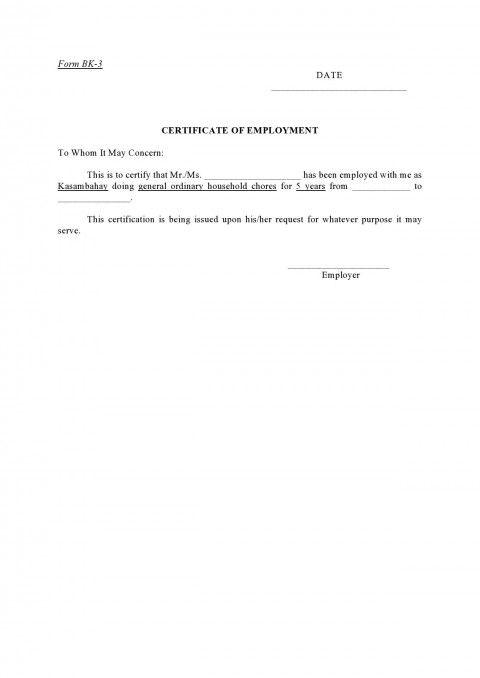 005 Incredible Proof Of Employment Letter Template Canada Design  Confirmation480