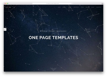 005 Incredible Simple One Page Website Template Free Download High Definition  Html With Cs360