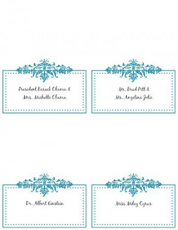 005 Incredible Wedding Name Card Template Highest Clarity  Seating Chart Place Free360