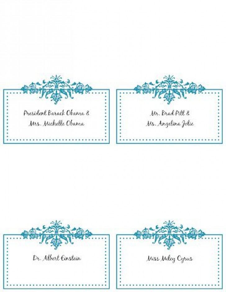 005 Incredible Wedding Name Card Template Highest Clarity  Seating Chart Place Free728