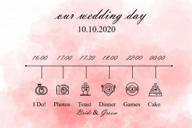 005 Incredible Wedding Timeline Template Free Concept  Day Excel Program