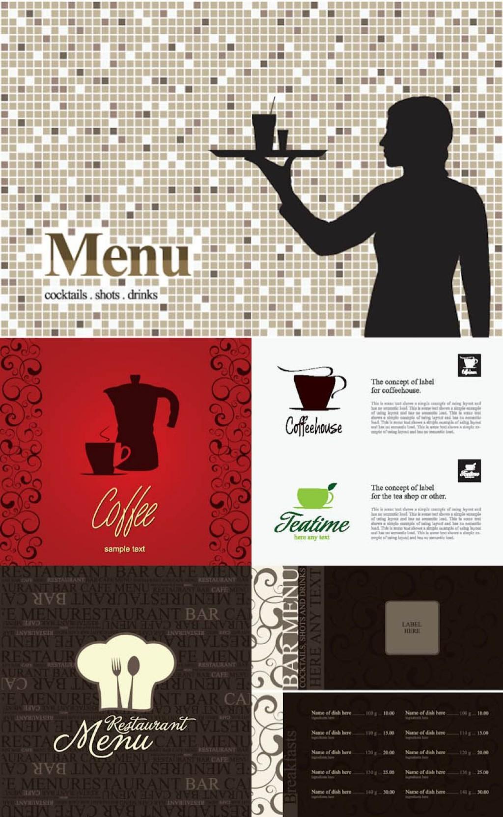 005 Magnificent Bar Menu Template Free Design  Download SnackLarge