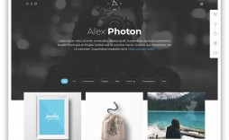 005 Magnificent Bootstrap Portfolio Template Free Photo  Download Website 4