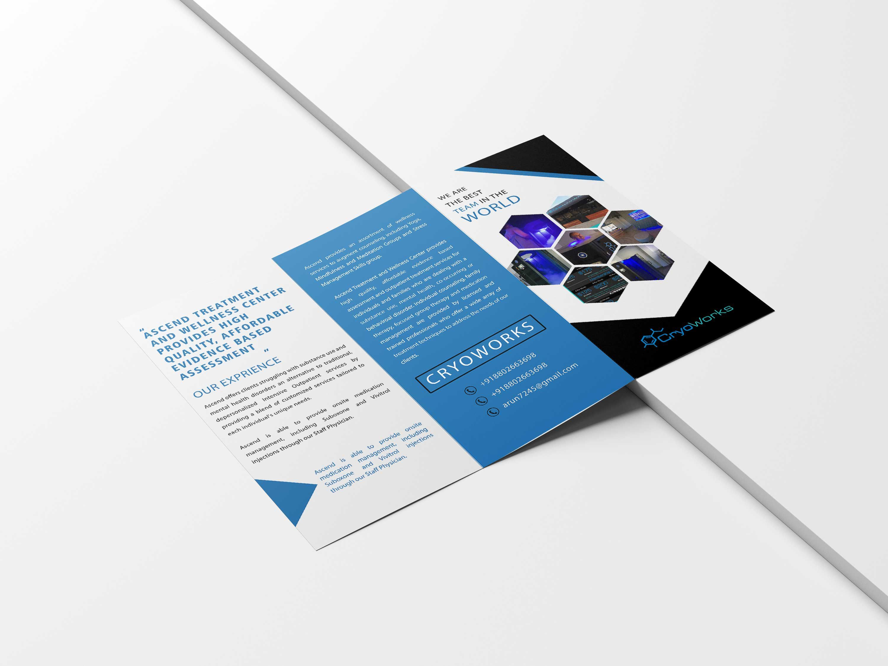 005 Magnificent Brochure Design Template Psd Free Download Concept  HotelFull