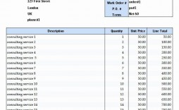 005 Magnificent Consultant Fee Schedule Template Sample