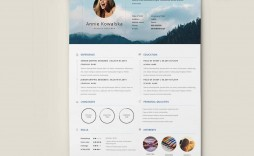 005 Magnificent Creative Resume Template Free Download Idea  For Microsoft Word Fresher Cv Doc