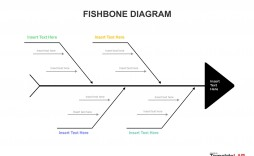 005 Magnificent Free Fishbone Diagram Template Microsoft Word Photo