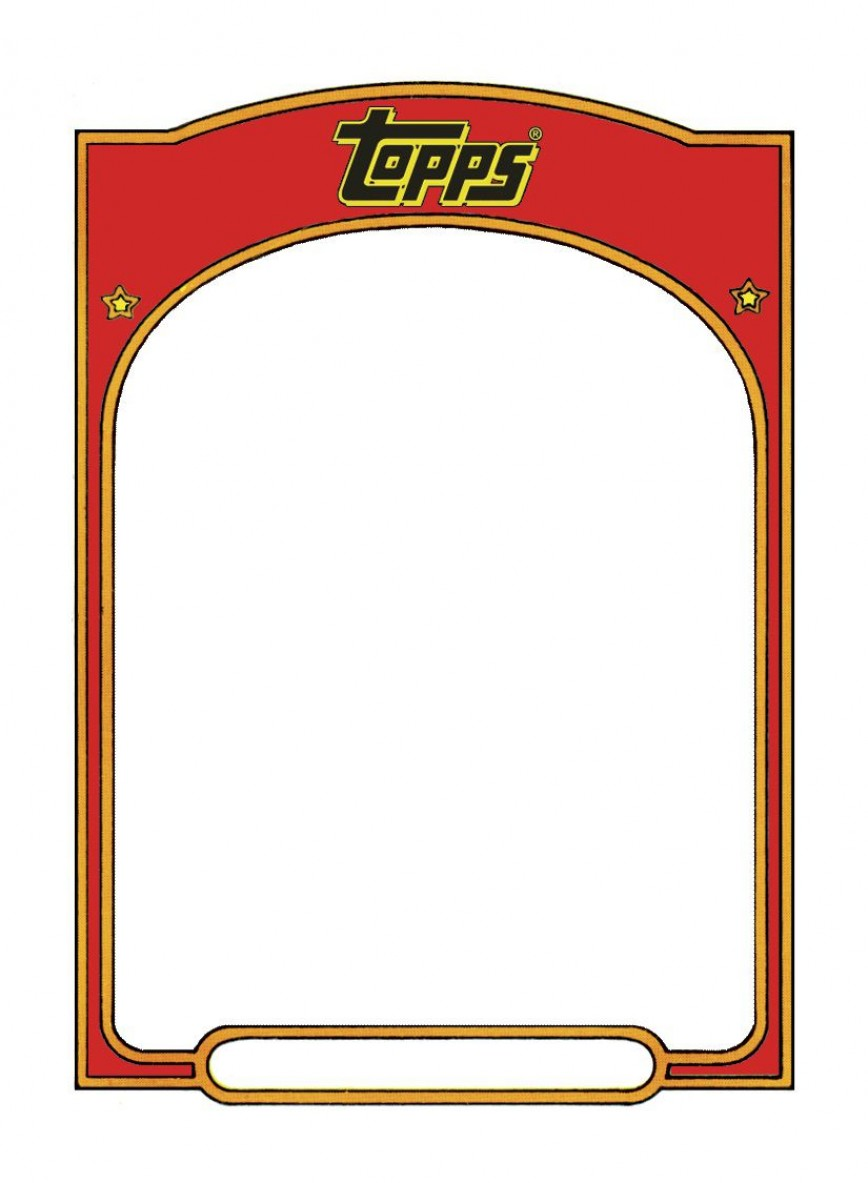 005 Magnificent Free Trading Card Template Download Highest Quality  Baseball
