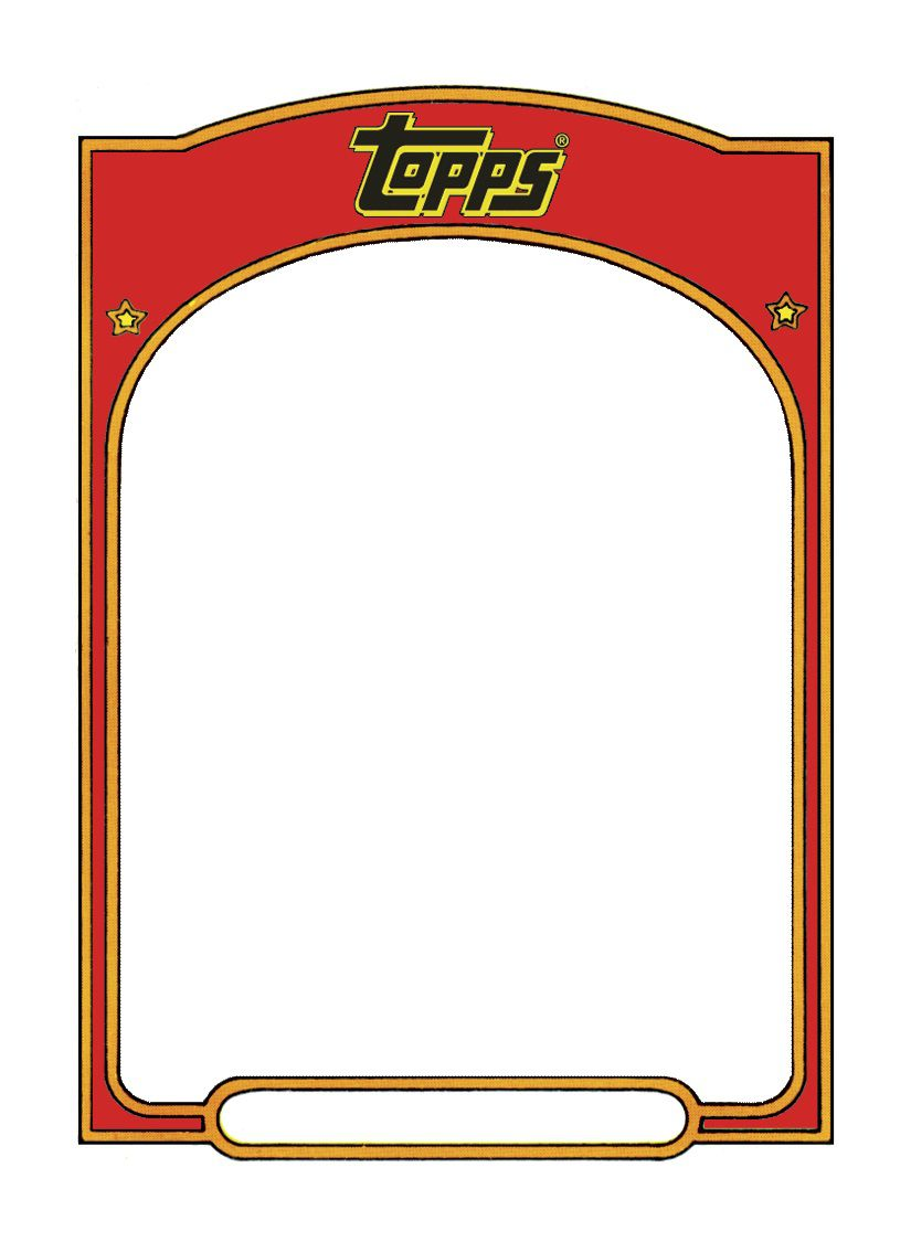 005 Magnificent Free Trading Card Template Download Highest Quality  BaseballFull