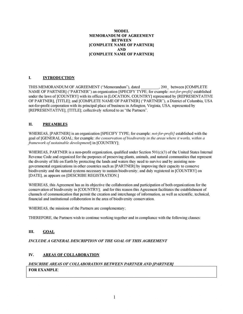 005 Magnificent General Partnership Agreement Template Canada Design Large