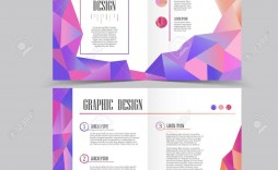 005 Magnificent Half Fold Brochure Template High Resolution  Free Microsoft Word Indesign