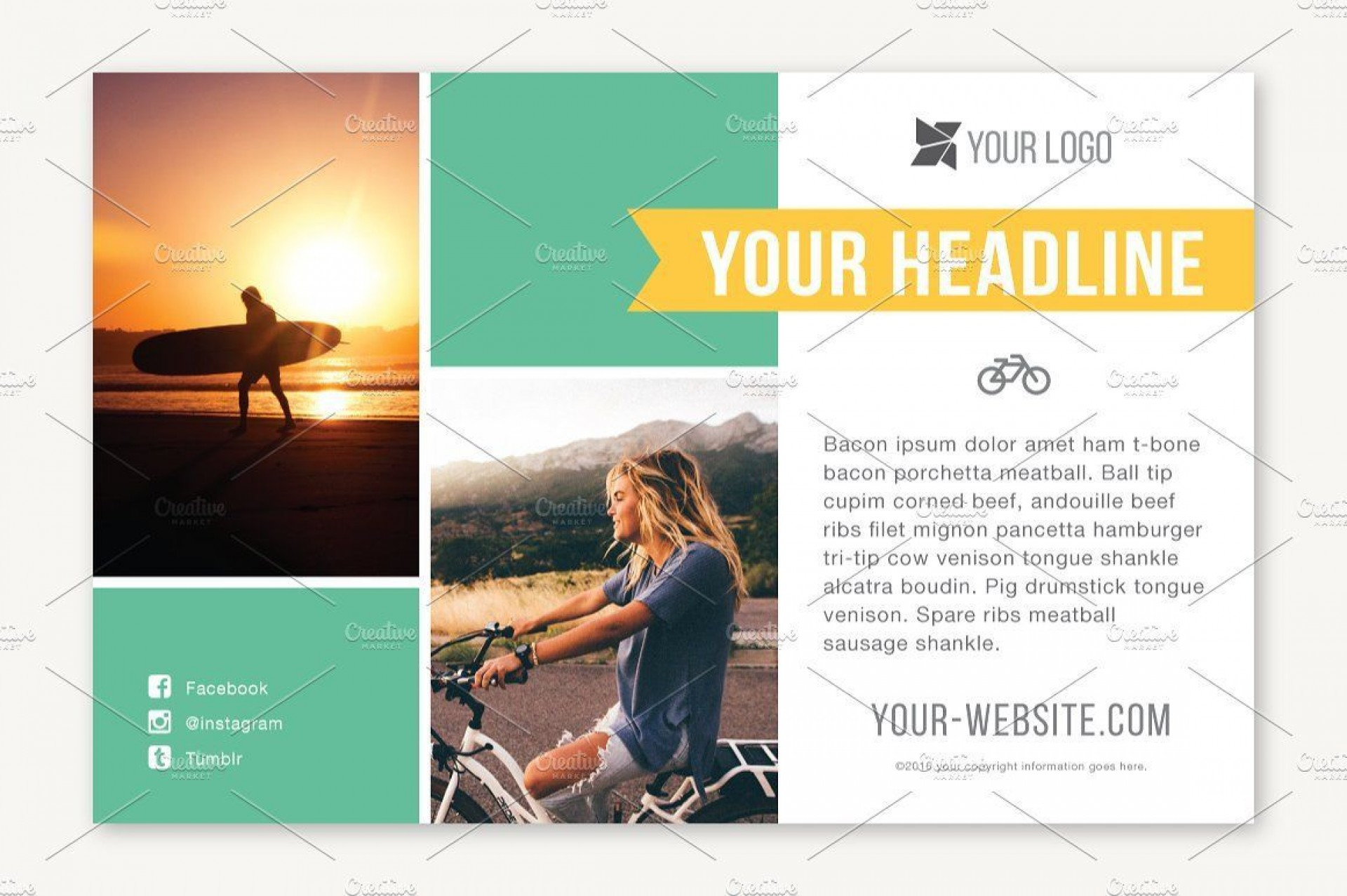 005 Magnificent Half Page Flyer Template Sample  Templates Google Doc Free Word Canva1920
