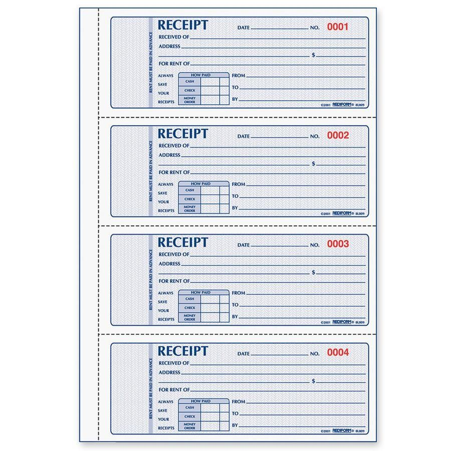 005 Magnificent House Rent Receipt Template India Doc Image  Format DownloadFull