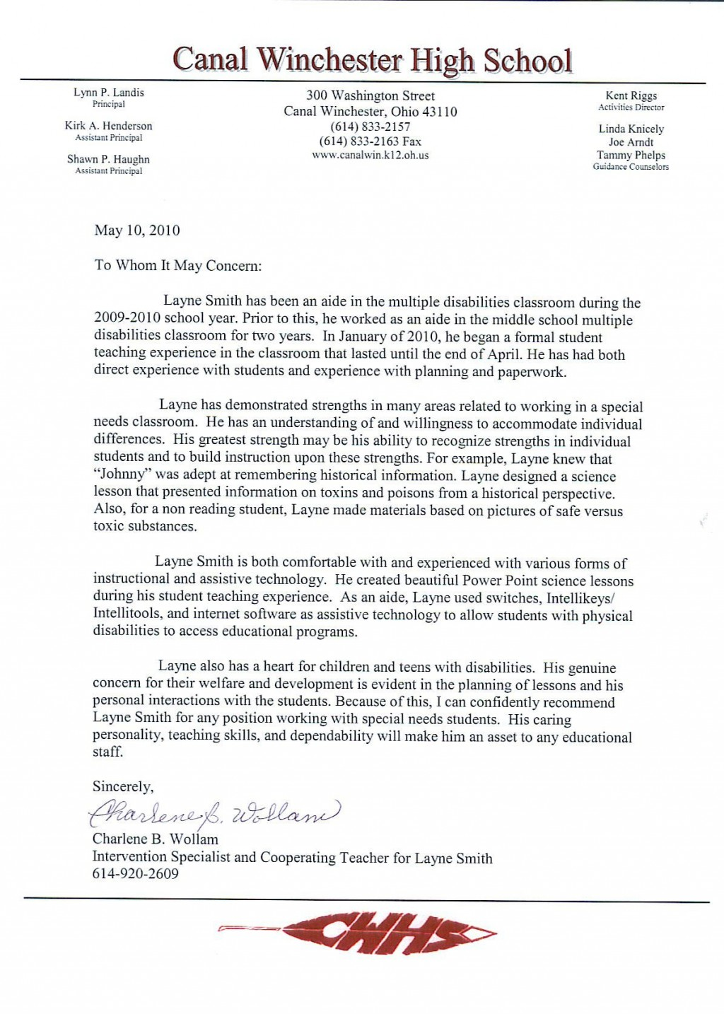 005 Magnificent Letter Of Recommendation For Student Teacher From Cooperating Template High Resolution Large