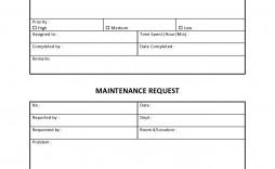 005 Magnificent Maintenance Work Order Template Design  Form Free Sample