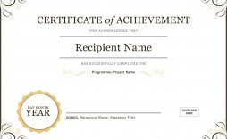 005 Magnificent Microsoft Word Certificate Template High Def  2003 Award M Appreciation Of Authenticity