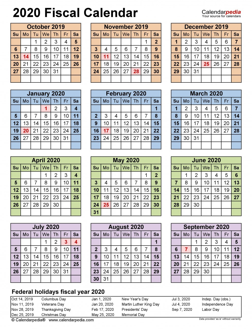005 Magnificent Payroll Calendar Template 2020 Image  Biweekly Schedule Excel FreeLarge