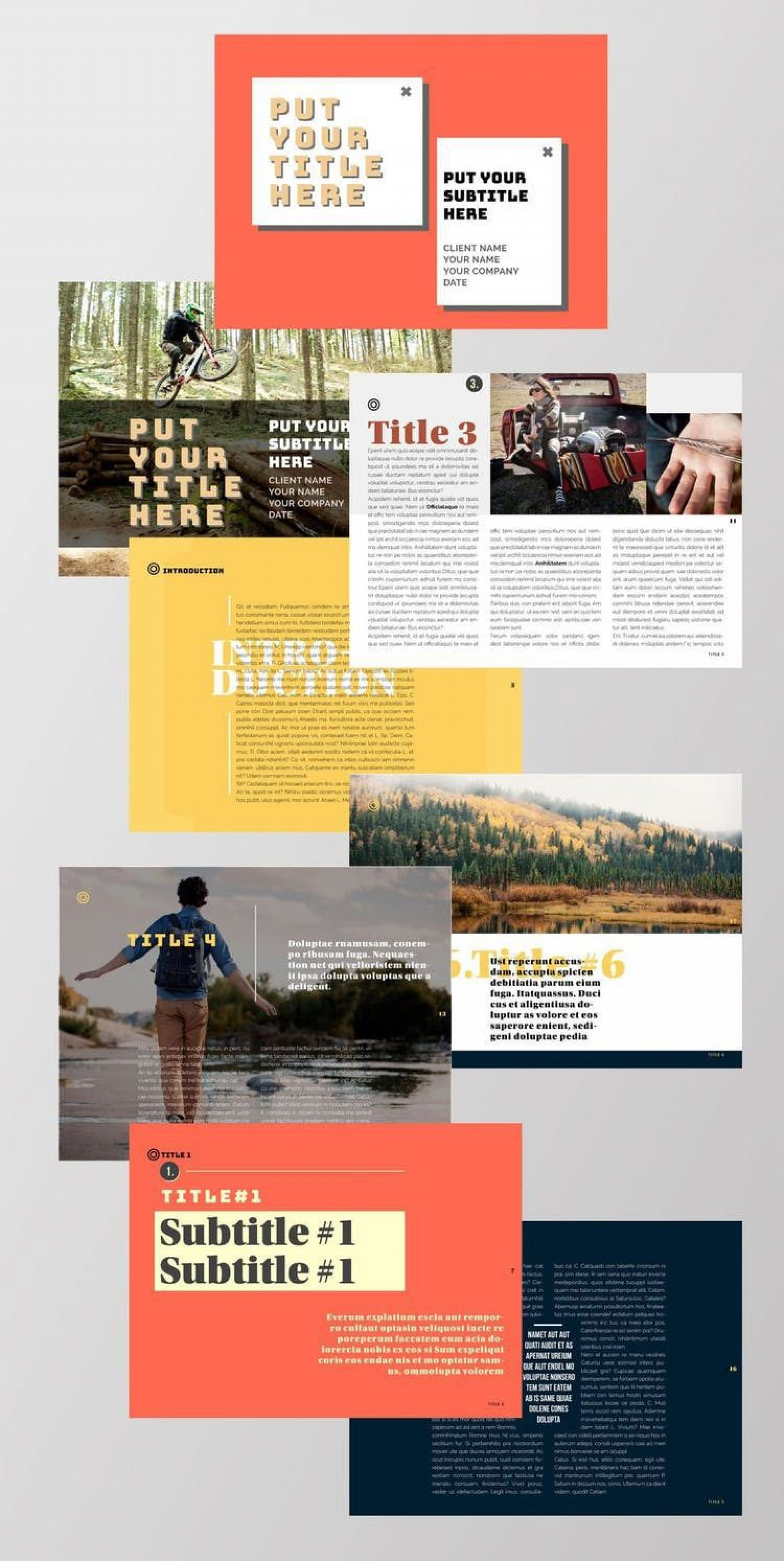 005 Magnificent School Magazine Layout Template Free Download Concept 1920