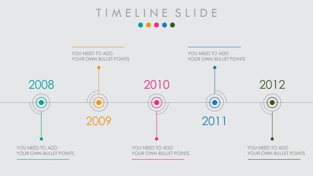 005 Magnificent Timeline Example Presentation Sample  Project Slide TemplateLarge