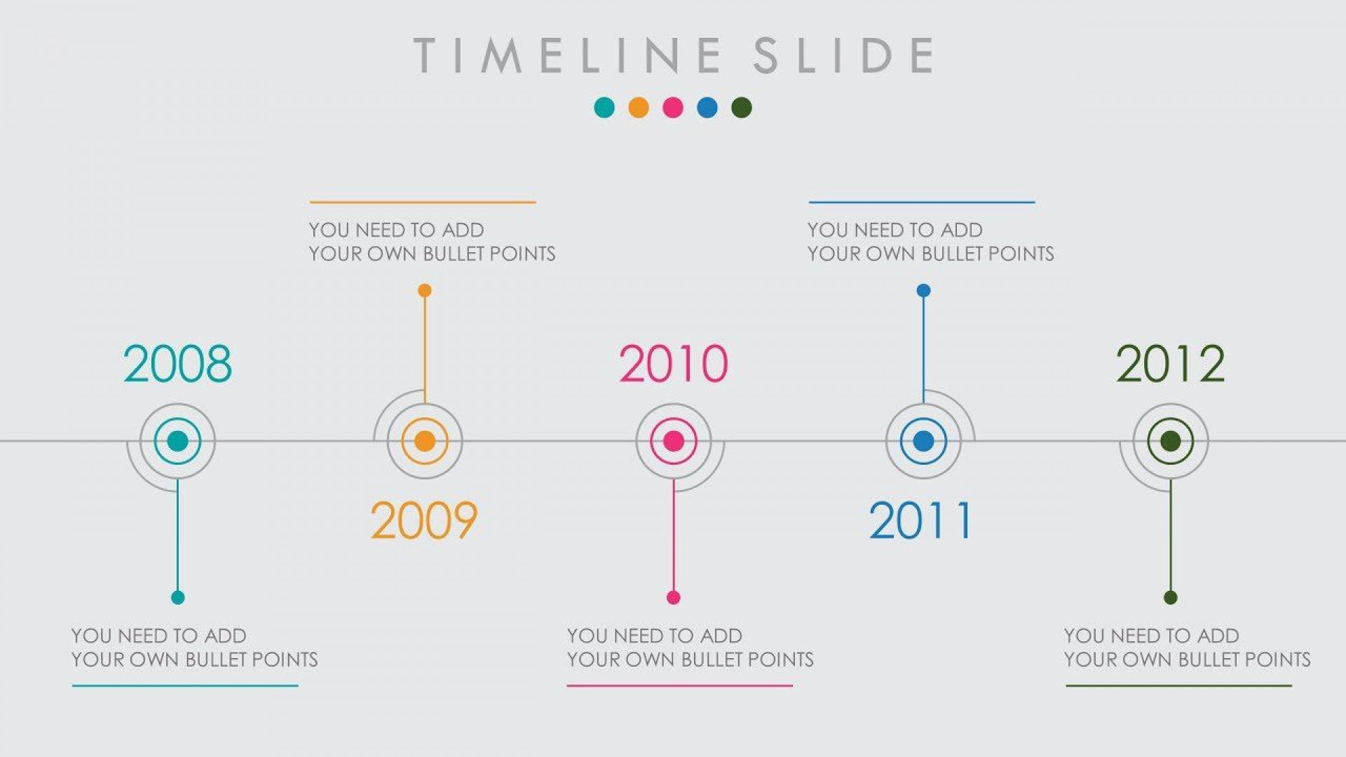 005 Magnificent Timeline Example Presentation Sample  Project Slide Template1920