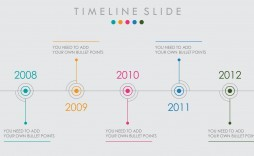 005 Magnificent Timeline Example Presentation Sample  Project Slide Template