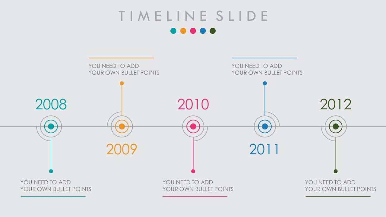 005 Magnificent Timeline Example Presentation Sample  Project Slide TemplateFull