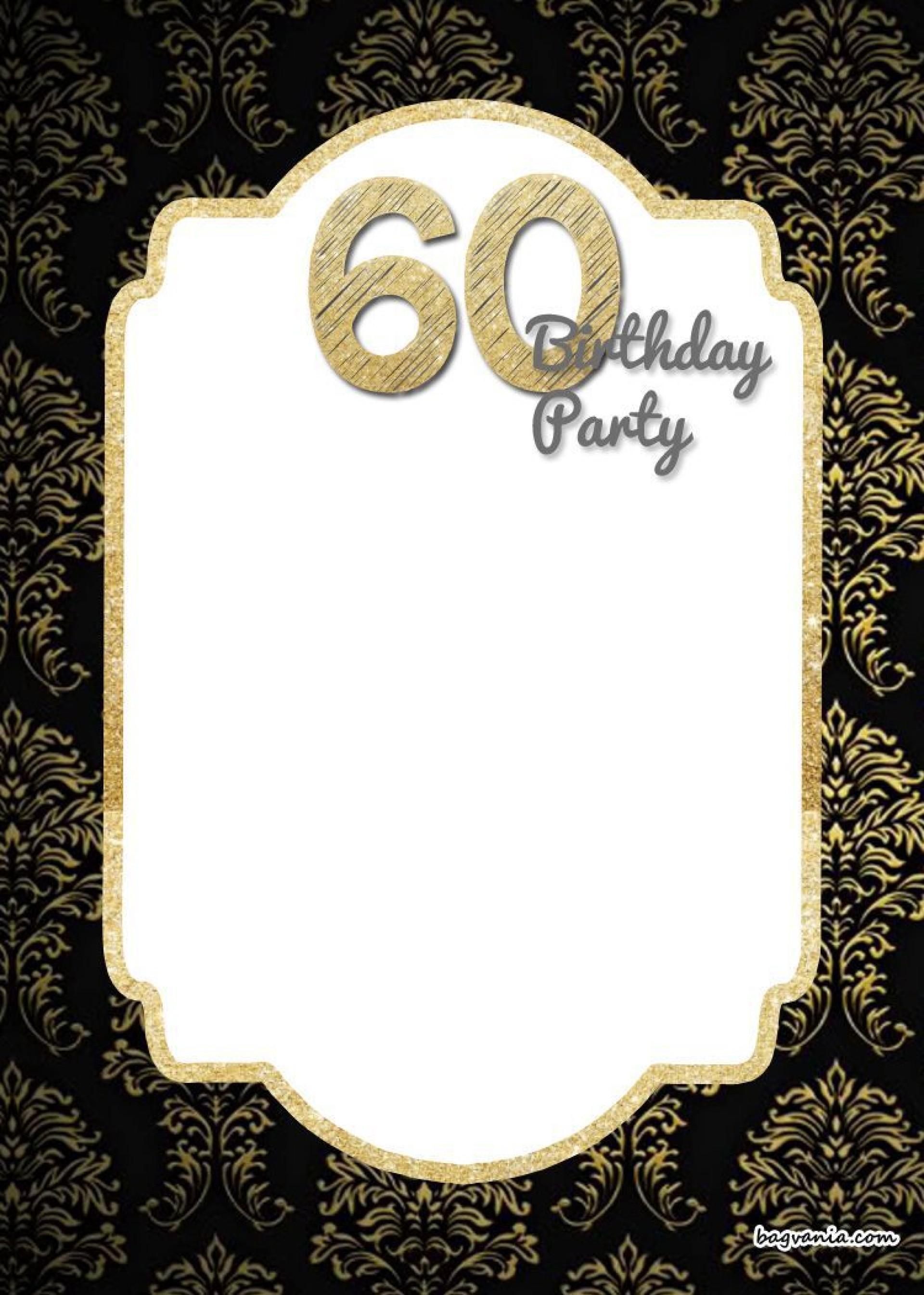 005 Marvelou 70th Birthday Invitation Template Free Picture  Surprise Invite With Photo1920