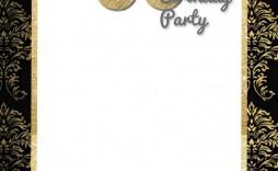 005 Marvelou 70th Birthday Invitation Template Free Picture  Surprise Invite With Photo